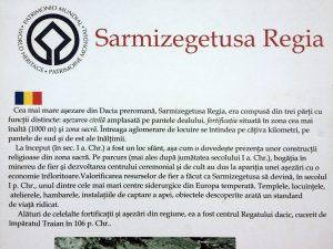Cum era impartita Sarmizegetusa Regia