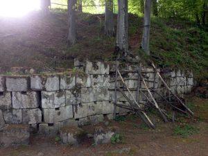 Zid de calcar, murus dacicus, sarmizegetusa regia