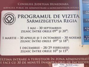 orar Sarmizegetusa Regia-2018